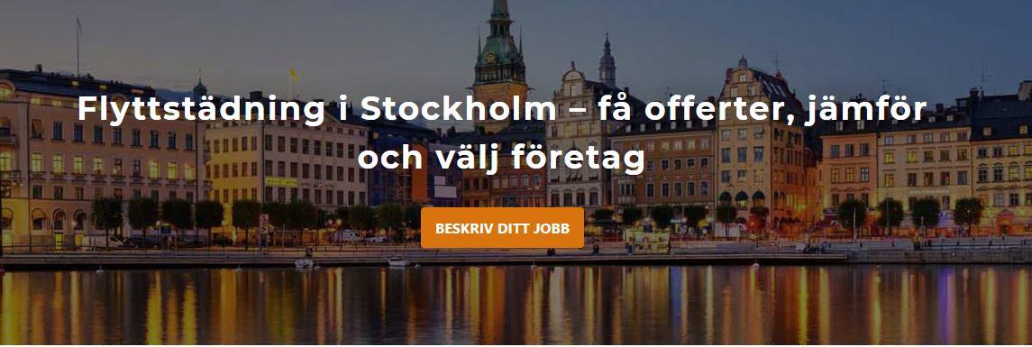 flyttstädning Stockholm offert