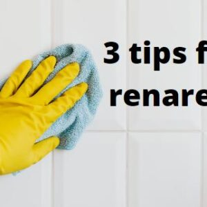 3 tips för ett renare hem